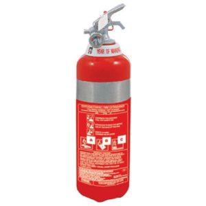 Φορητός ανοξείδωτος πυροσβεστήρας ξηράς σκόνης 1kg