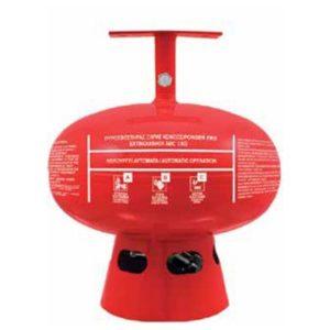 Αυτόματος πυροσβεστήρας οροφής 4.5kg hfc-227ea